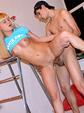 Blonde Teen Hottie Loses Anal Virginity With Builder - Picture 14