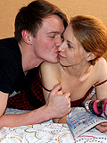 Handsome Fellow Stuffs Virgin Ass Of His Gf By Fat Dick - Picture 5